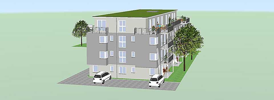 Wohnraum Studentenwohnheim Friedrichshafen Kopfseite